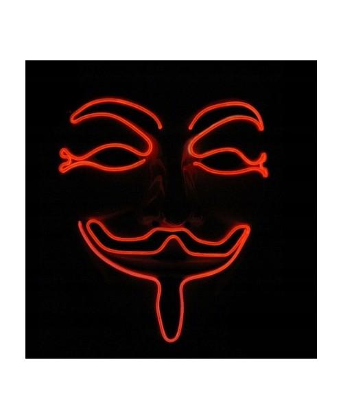 Maska STOP Vendetta Anonymous ACTA guy FAWKE LED