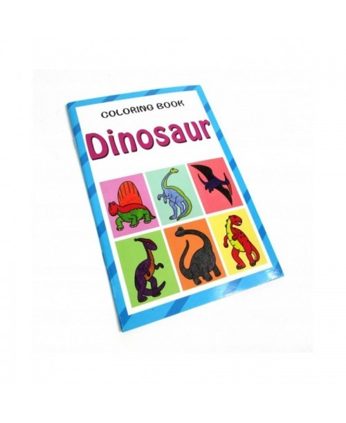 Malowanka kolorowanka dinozaury