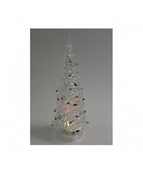 CHOINKA LED świąteczna ŚWIECĄCA dekoracja 19cm