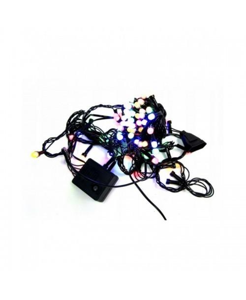 LAMPKI światełka CHOINKOWE kolorowe 100 LED 6m