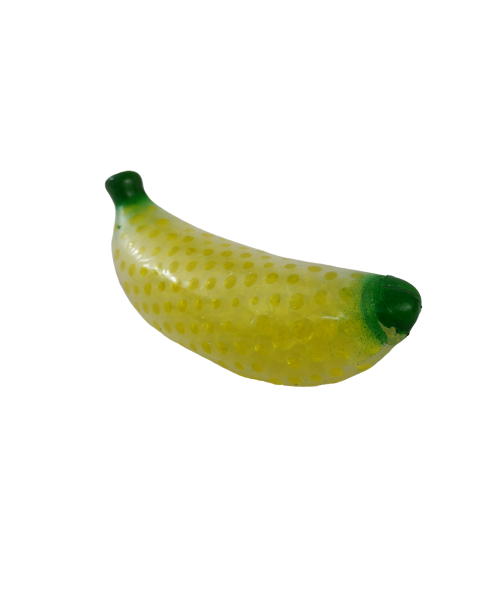 Gniotek ANTYSTRESOWY Squishy BANAN Fruit Beads