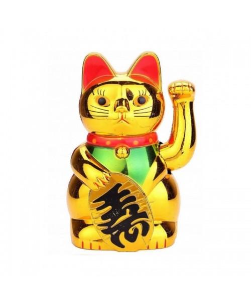 MANEKI-NEKO figurka JAPOŃSKIEGO kota SZCZĘŚCIA 16cm