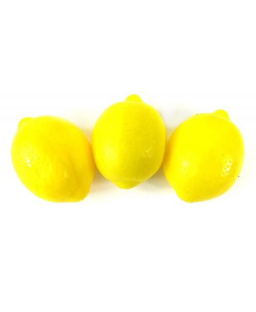 Gniotki antystresowe squishy ball CYTRYNA 3szt.