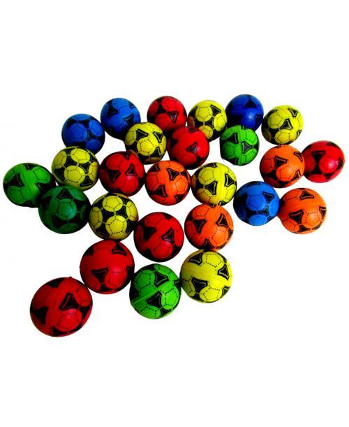 26 szt. Skaczące piłeczki kauczukowe piłka nożna 4 cm