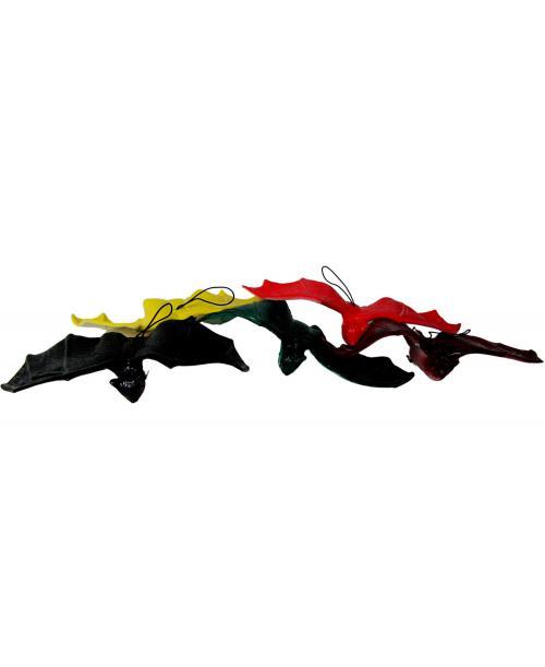5szt. Nietoperze Gumowe Kolorowe Zwierzątka Ssaki