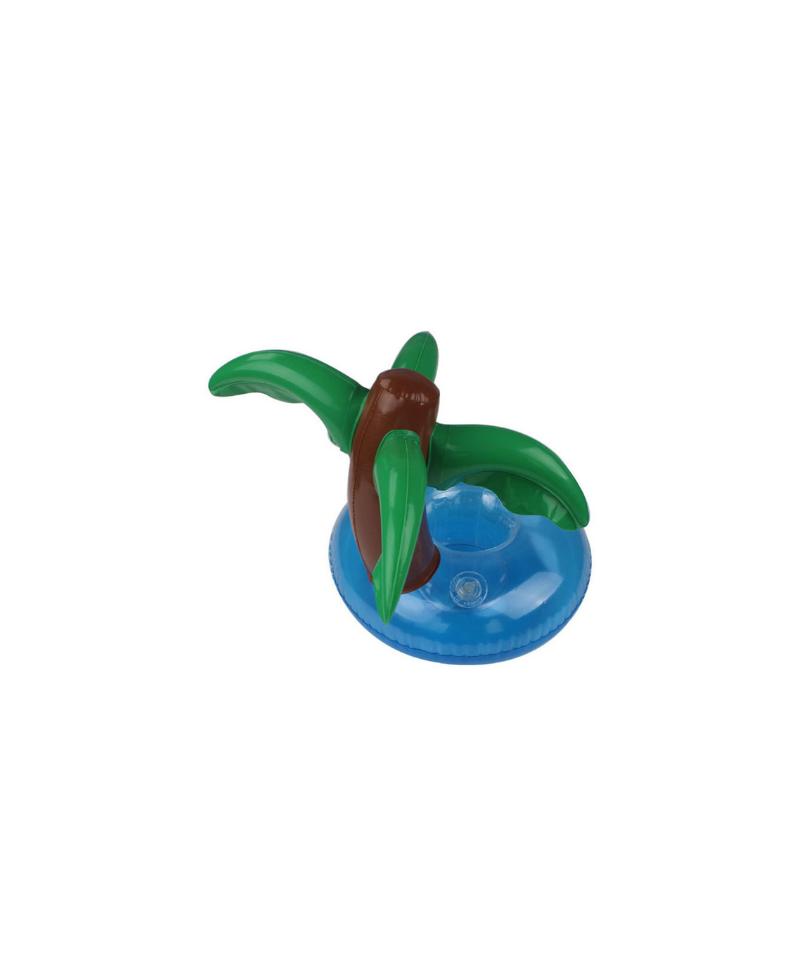 Dmuchany uchwyt  drink holder w kształcie palmy