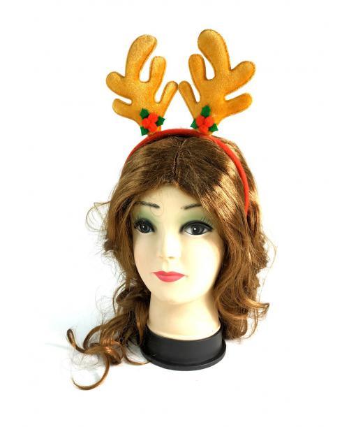 OPASKA świąteczna uszy RENIFERA