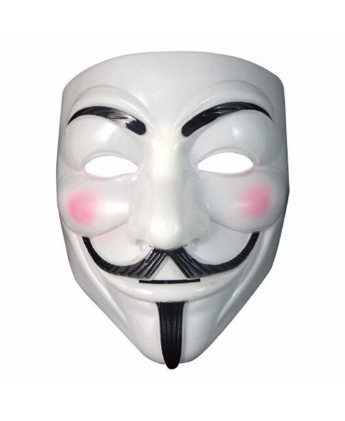Biała maska Anonymous ACTA guy fawke