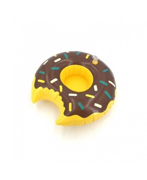 Dmuchany uchwyt na puszkę drink holder donut