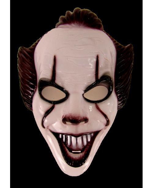 Maska  karnawałowa joker straszny klaun