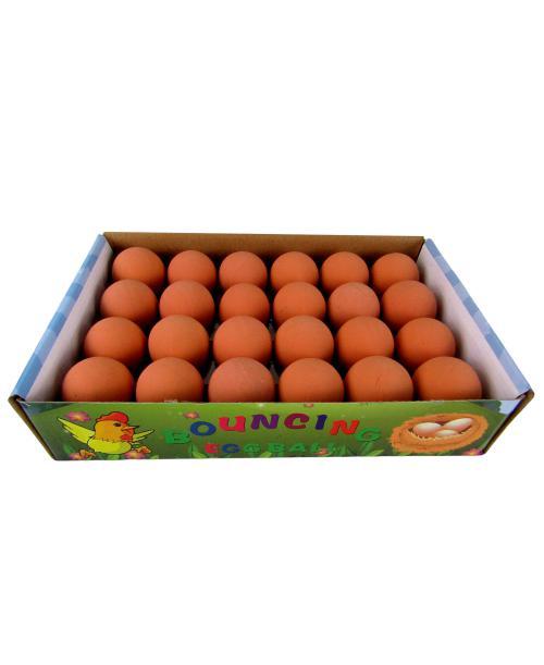 Kauczukowe skaczące jajko jajo 40 szt.