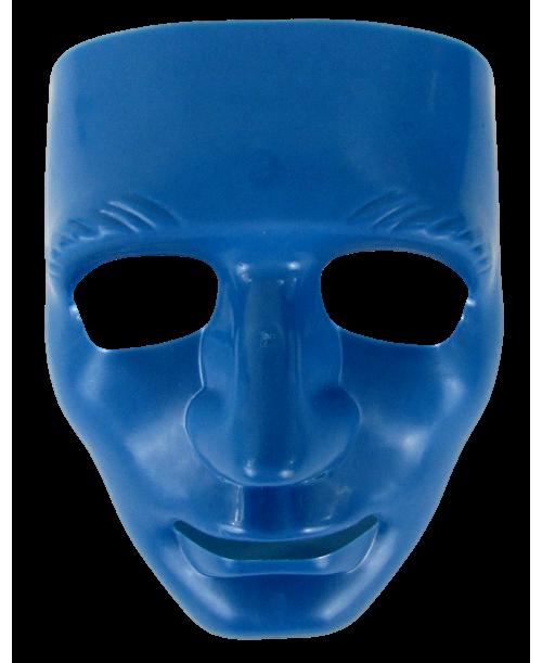 Maska karnawałowa niebieska teatr