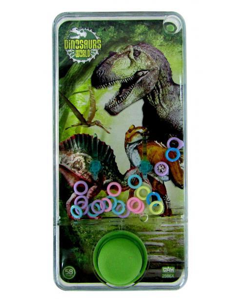 Gra wodna zręcznościowa dinozaur