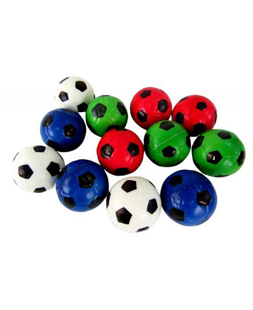 Piłki piankowe antystresowe  12 szt. 6cm