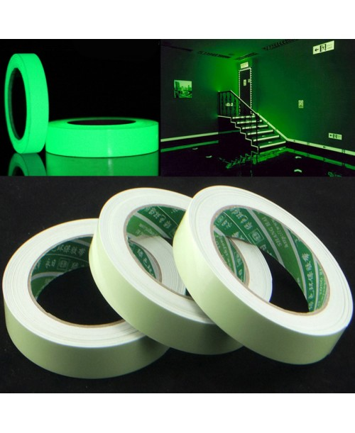 Samoprzylepna taśma fluorescencyjna 12mm x3m