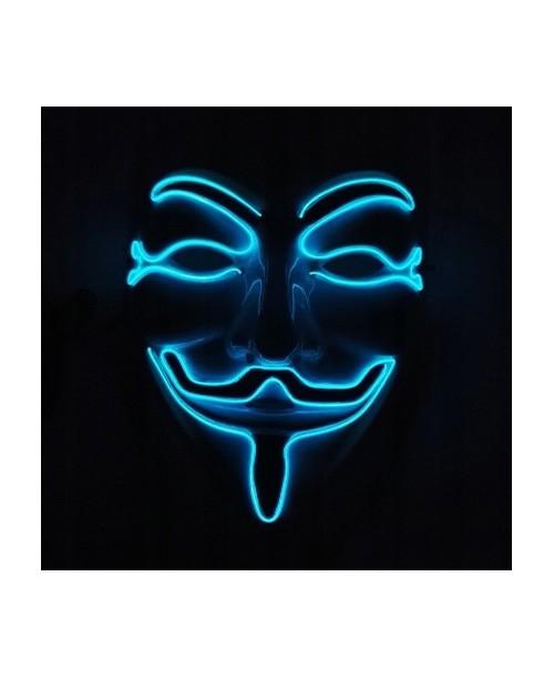 Maska świecąca LED Anonymous ACTA