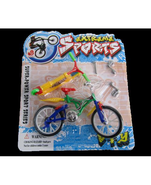 Fingerboard cross bike hulajnoga mini rower