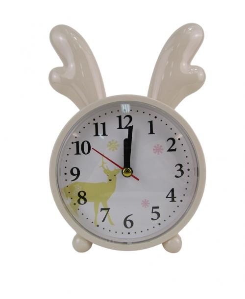 Ecru budzik zegarek z rogami łosia