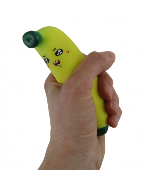 Gniotek banan antystresowy
