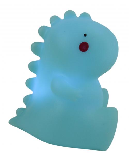 LAMPKA LED niebieska PLASTIKOWA lampa 3D MIŚ