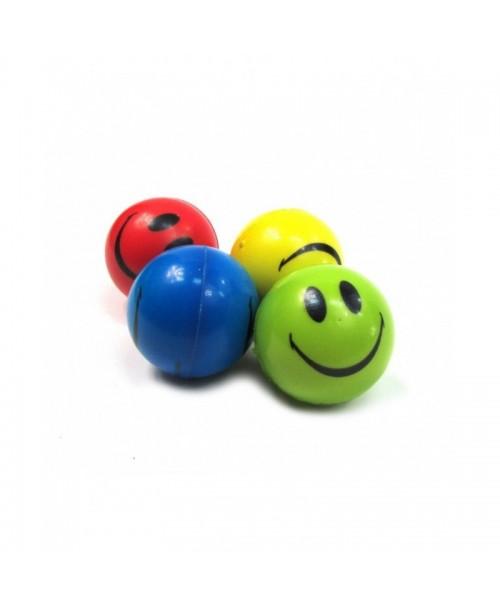 4 szt. piłki PIANKOWE antystresowe piłeczki EMOJI