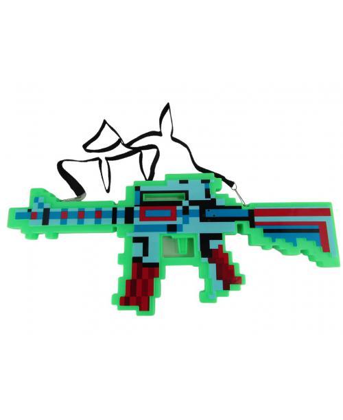 CRAFT pistolet KARABIN pixels plastikowy KOLORY