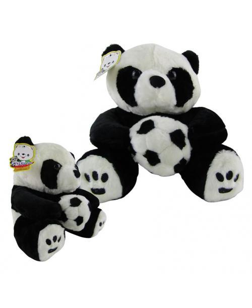 Panda pluszak maskotka przytulanka z piłką 24 cm