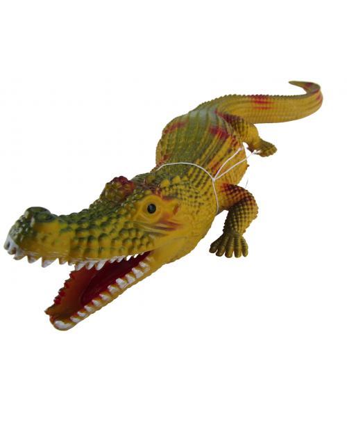 Gumowy realistyczny krokodyl figurka zabawka dla dzieci