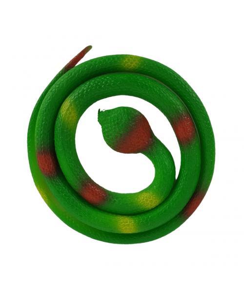 WĄŻ GUMOWY Miękki Rozciągliwy DO ZABAWY Kobra